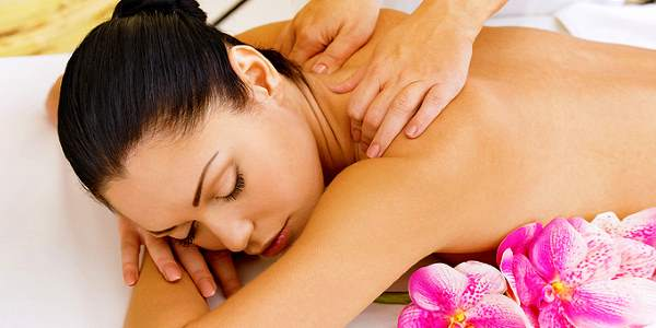 массаж с использованием сала