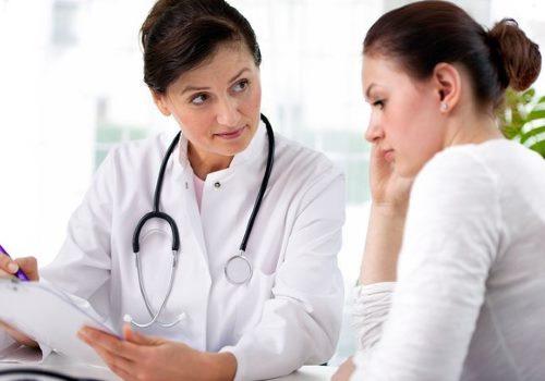 консультация пациентки